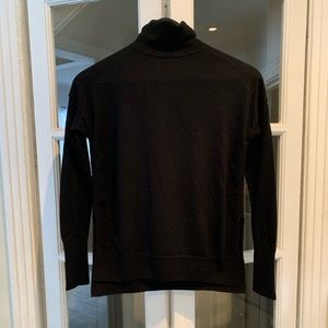 Babaton black wool turtleneck. Size XS
